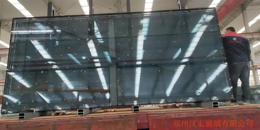 室内隔断12mm10mm超白防火钢化玻璃