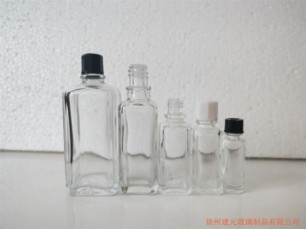 斧标驱风油玻璃瓶生产厂家30ml上标活络油瓶玻璃瓶清凉油瓶风