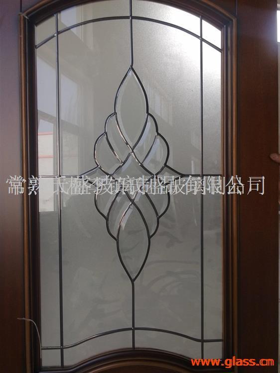 铜条无焊点镶嵌玻璃20MM厚度新款