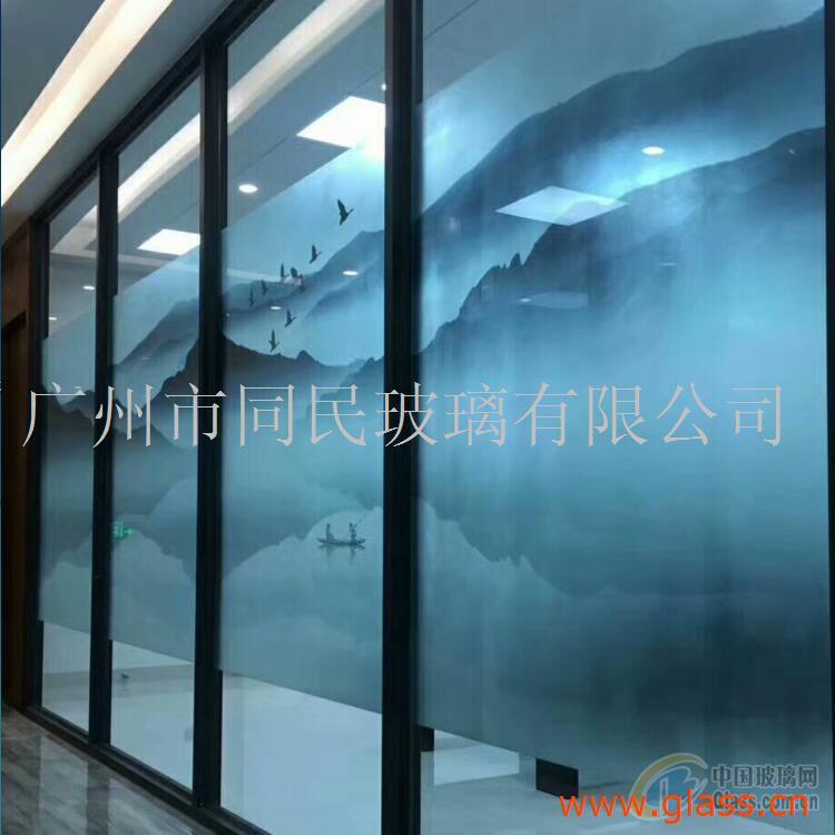 移门玻璃 条纹玻璃 超白瓦槽条纹玻璃 钢化条纹玻璃