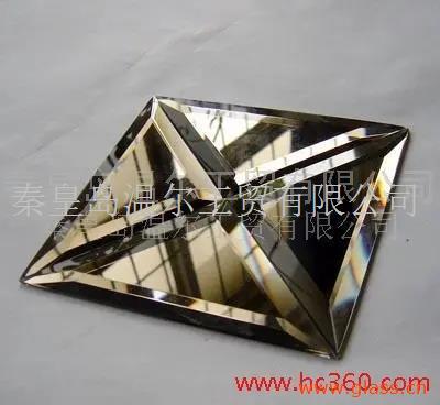 金色玻璃 斜边玻璃 拼镜