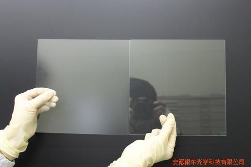 安徽银东生产黑板AG玻璃蚀刻玻璃防眩光玻璃