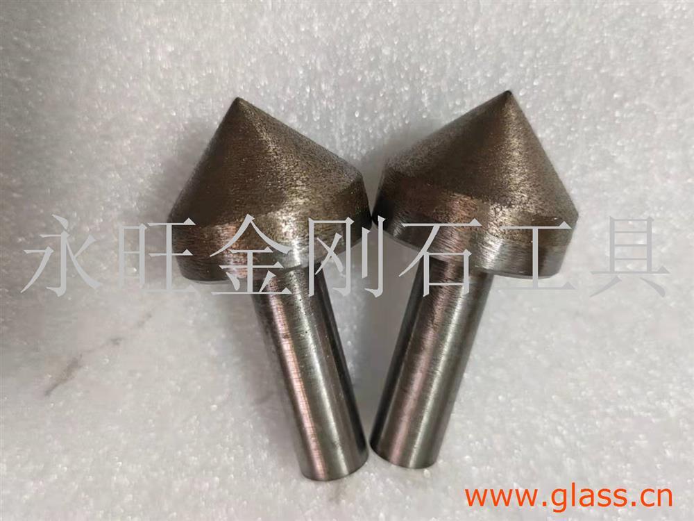 烧结倒角磨头加长钻头超薄钻头切割片水晶钻头