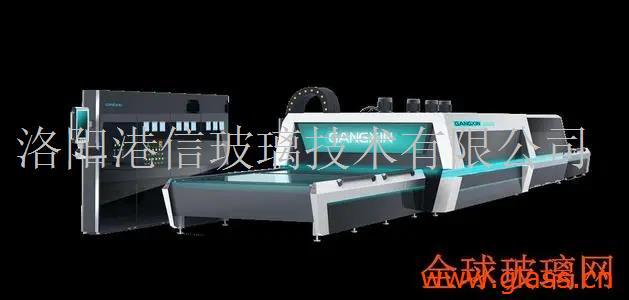 玻璃设备-GX-PY(SD)系列水平式平弯两用玻璃钢化机组