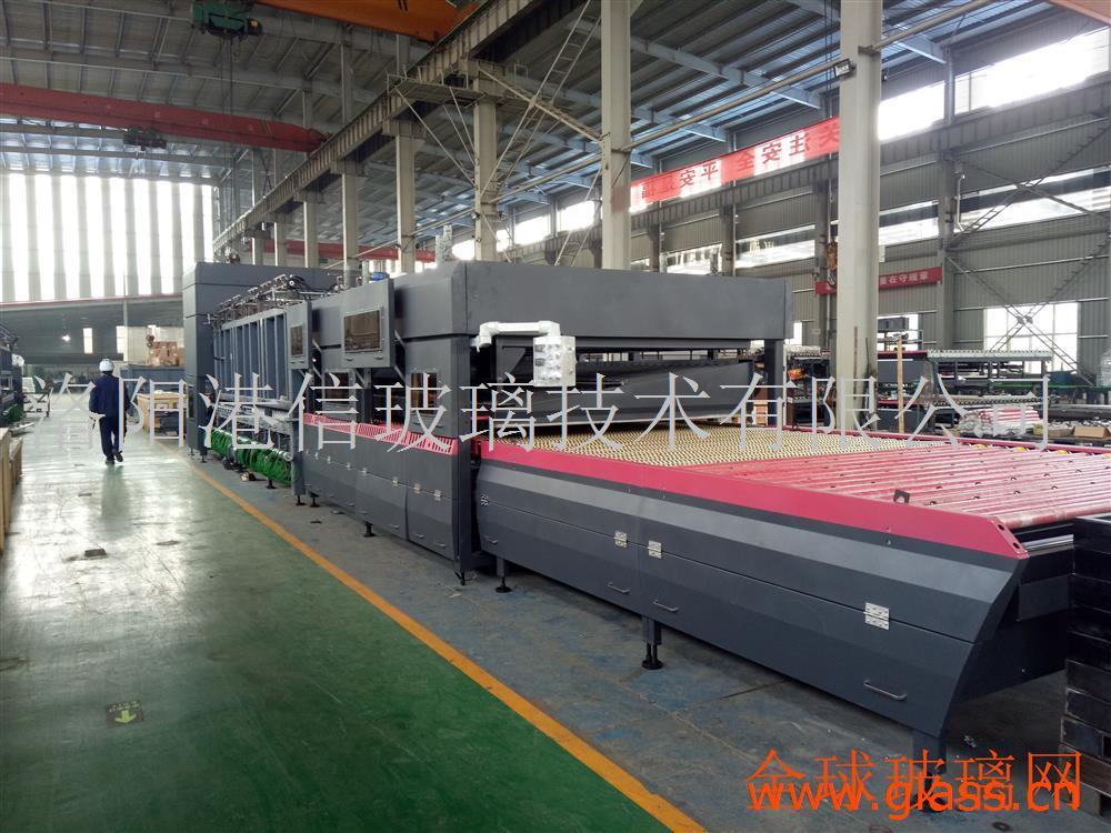玻璃设备-GX-SSP系列水平辊道式双室钢化玻璃机组