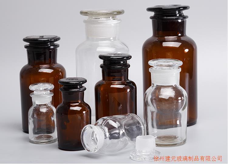 玻璃瓶厂家直销化学试剂瓶60ml玻璃瓶透明试剂瓶1000ml