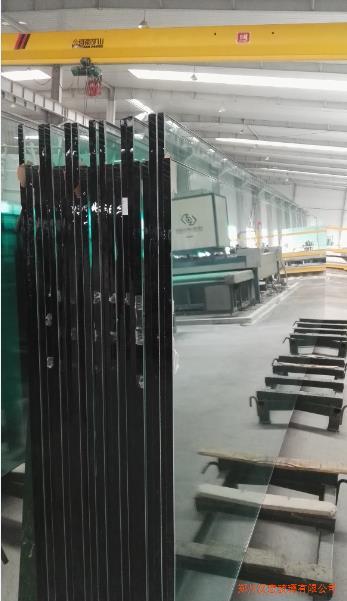 兰州19mmlow-e+25a+19mm白超大中空玻璃