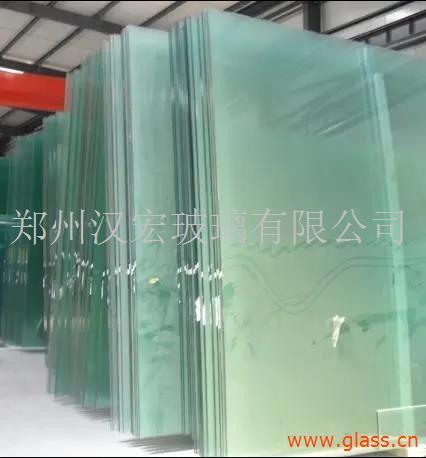 河南郑州热弯弧形钢化中空夹胶玻璃厂家