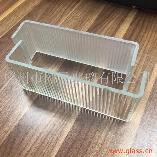 广州同民超白钢化U型玻璃磨砂U型玻璃