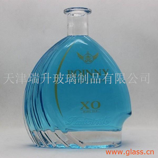 祖庙街道酒瓶加工生产洋酒红酒-烤花喷图印刷-天津瑞升-佛山市