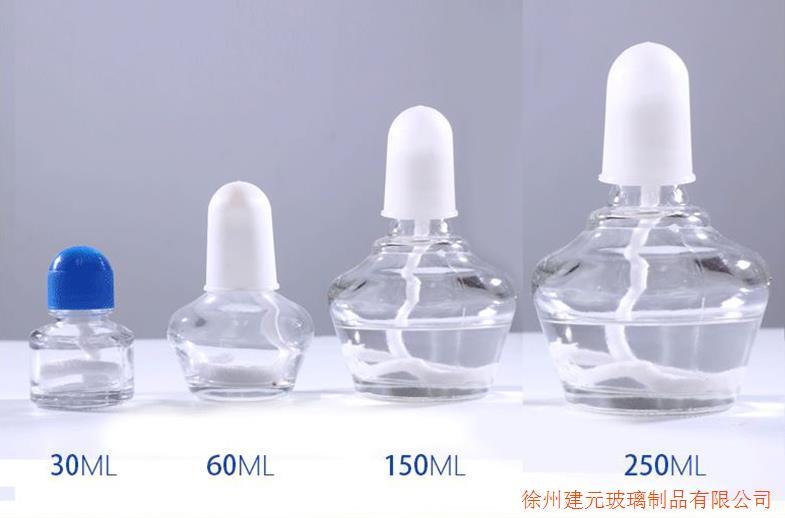 玻璃酒精灯250ml150ml60ml30ml全套玻璃加热酒