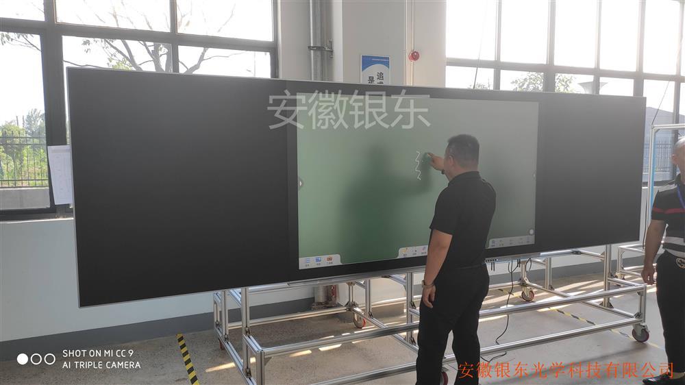 安徽银东专业生产防眩光玻璃蚀刻AG玻璃