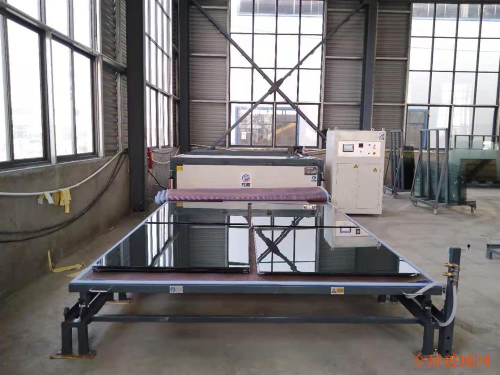 高透建筑玻璃生产设备方鼎夹胶炉厂家直销