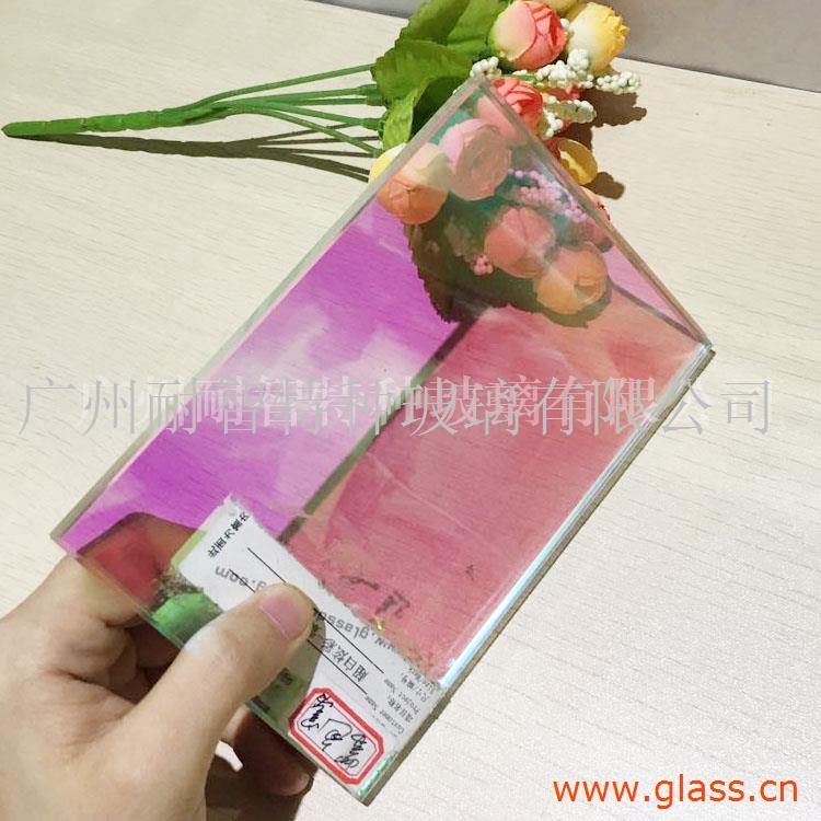 厂家直销艺术玻璃  山水画玻璃 可定制