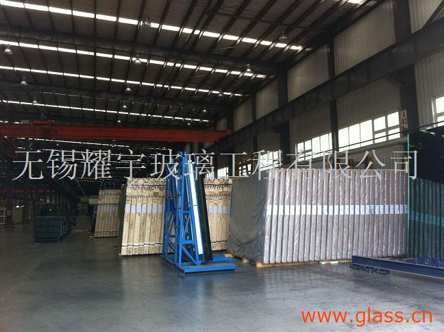15-25MM 超长超大版超白钢化玻璃 夹层玻璃 3.3米*8米