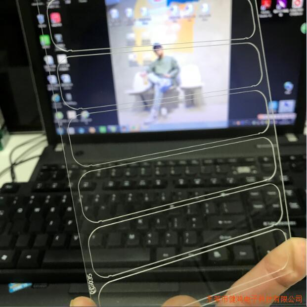 东莞健鸿二强减薄加工摄像头玻璃