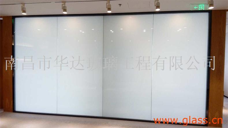 智能调光玻璃 江西银行雾化钢化玻璃 销售厂家