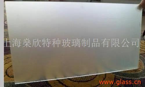 上海高端定制蒙砂玉沙玻璃