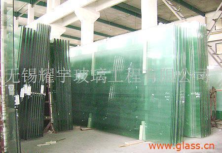 酒店用19mm抗冲击钢化玻璃_超大板镀膜钢化玻璃