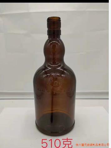 茶色啤酒瓶酱油瓶调料瓶饮料瓶棕色原料黄酒瓶料酒瓶大口避光药瓶