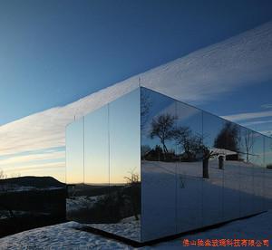 单面透视镜单反透光玻璃一面看到一面看不到镜子