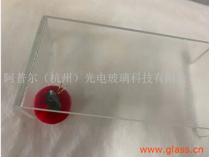 杭州超白LOW-E外光面内压花U型玻璃 U型玻璃价格 U型玻璃厂家