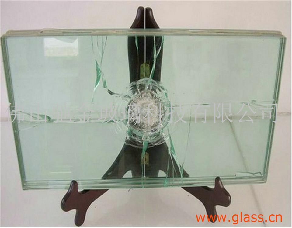 银行用防弹玻璃夹胶防爆玻璃加工