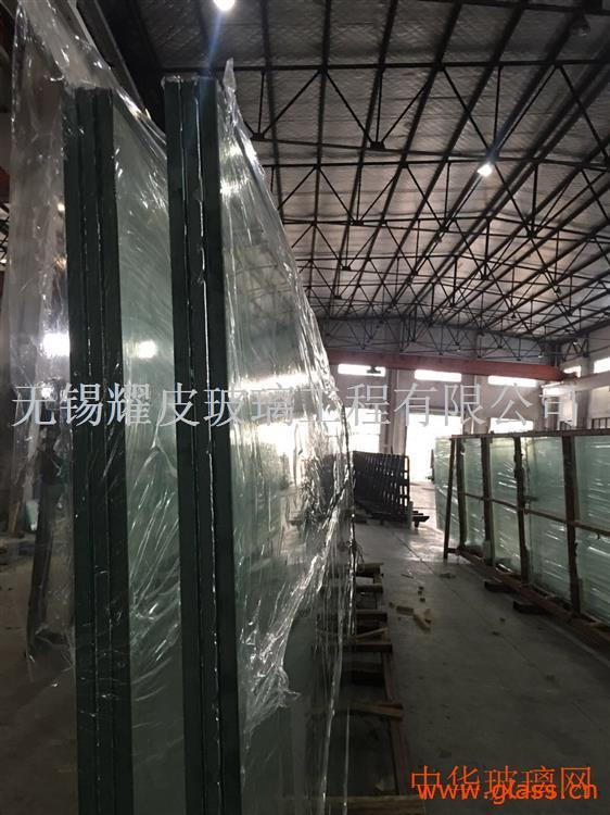 15mm19mm超大版面SGP夹胶幕墙玻璃