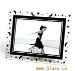 玻璃小相框玻璃相框壁灯万年历