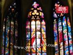 上海 彩绘镶嵌教堂玻璃彩色教堂玻璃