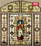 教堂玻璃彩绘玻璃【圆博工艺】