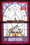 应用于个时尚展馆艺术玻璃教堂玻璃彩色玻璃