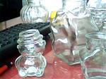 玻璃工艺品熊猫瓶