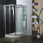 厂价定做钢化玻璃浴室推拉门厂家,简易淋浴房