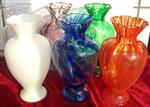 盐城|炉台吹制玻璃花瓶库存