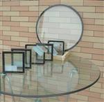 方形中空玻璃圆形隔音玻璃