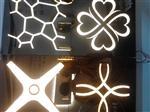 河北省沙河市旭阳玻璃夜场吊顶透光玻璃