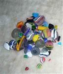 彩色玻璃石廠家供應