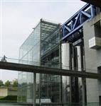 建筑门窗6+12A+6low-e中空钢化玻璃