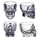 玻璃骷髅工艺品 骷髅瓶