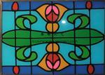 彩色玻璃片/彩绘玻璃/夹层玻璃/教堂玻璃/彩晶玻璃