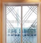 美观大方欧式移门镶嵌玻璃