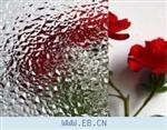 透明钻石压花玻璃