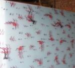 供应优质布纹丝印
