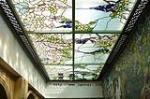 欧式彩玻璃绘吊顶厂家