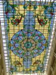 教堂。酒店彩绘玻璃