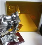 供应6mm金色镀膜玻璃