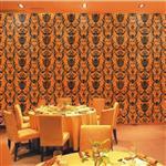 广州装饰玻璃-墙壁装饰富贵连年
