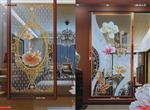 南昌|艺术玻璃屏风隔断背景墙