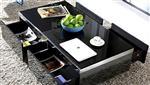 家具钢化黑玻璃